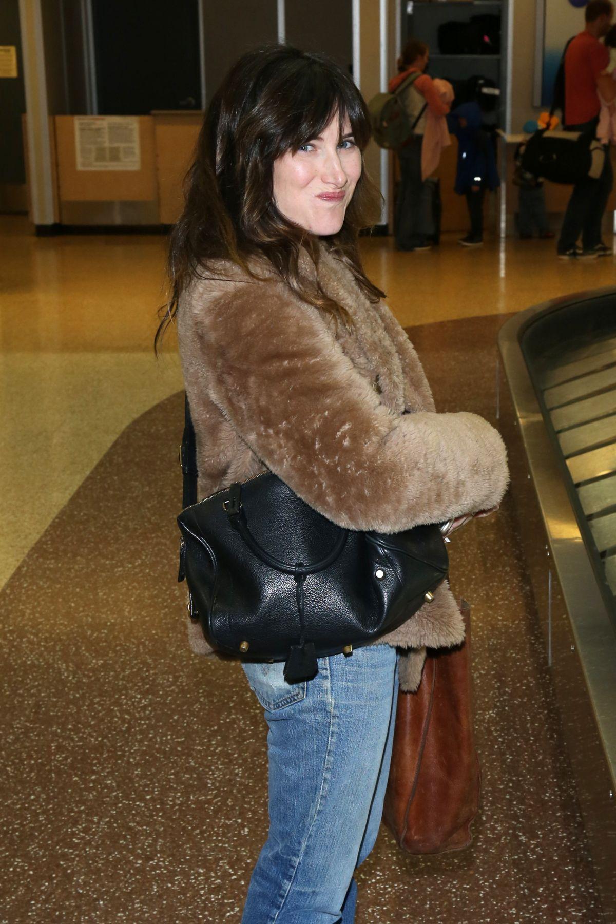 KATHRYN HAHN Arrives in Salt Lake City 01/21/2017