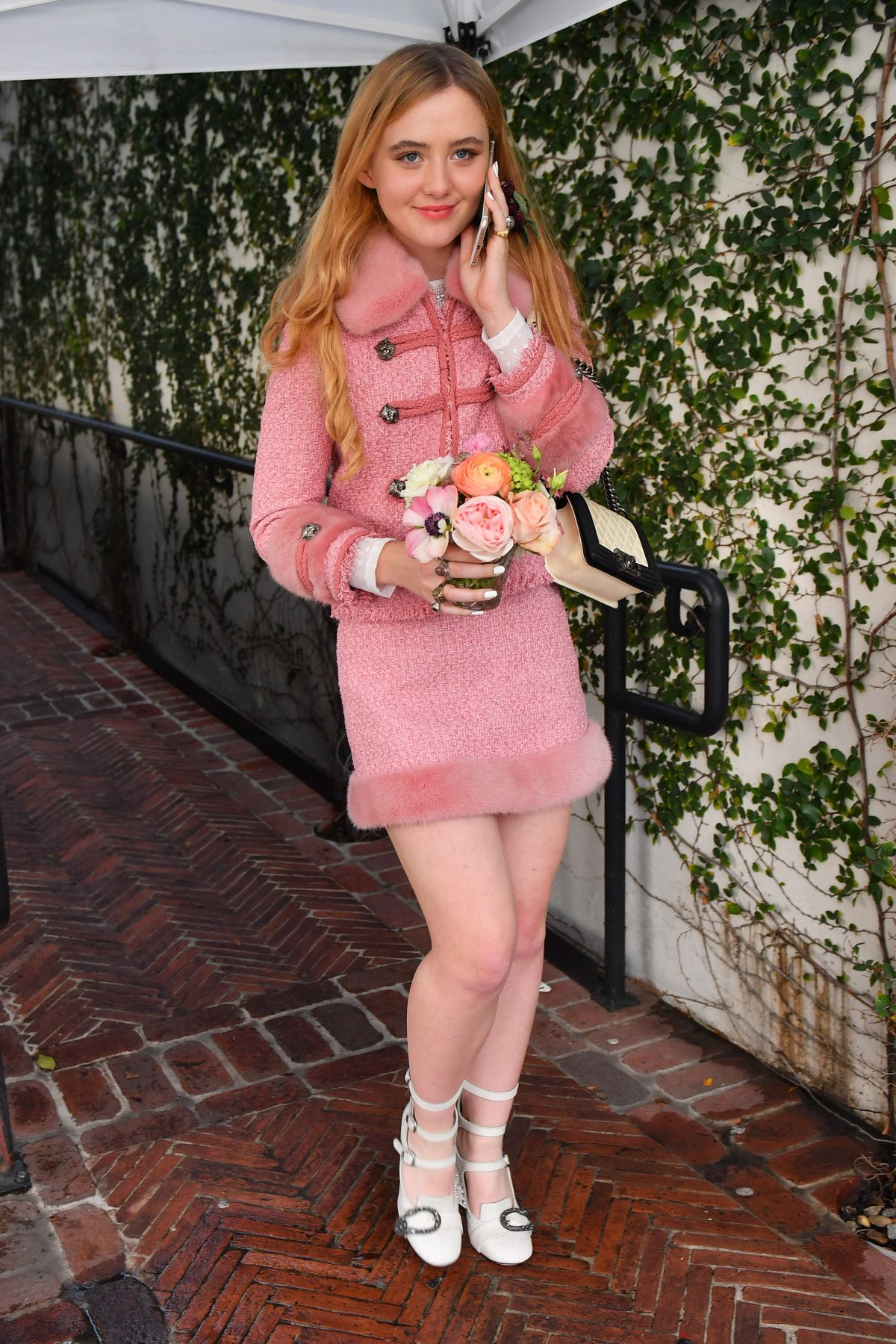 KATHRYN NEWTON at W's IT Girl Luncheon in Los Angeles 01/07/2017