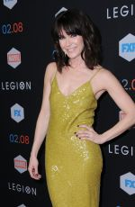 KATIE ASELTON at 'Legion' Premiere in Los Angeles 01/26/2017
