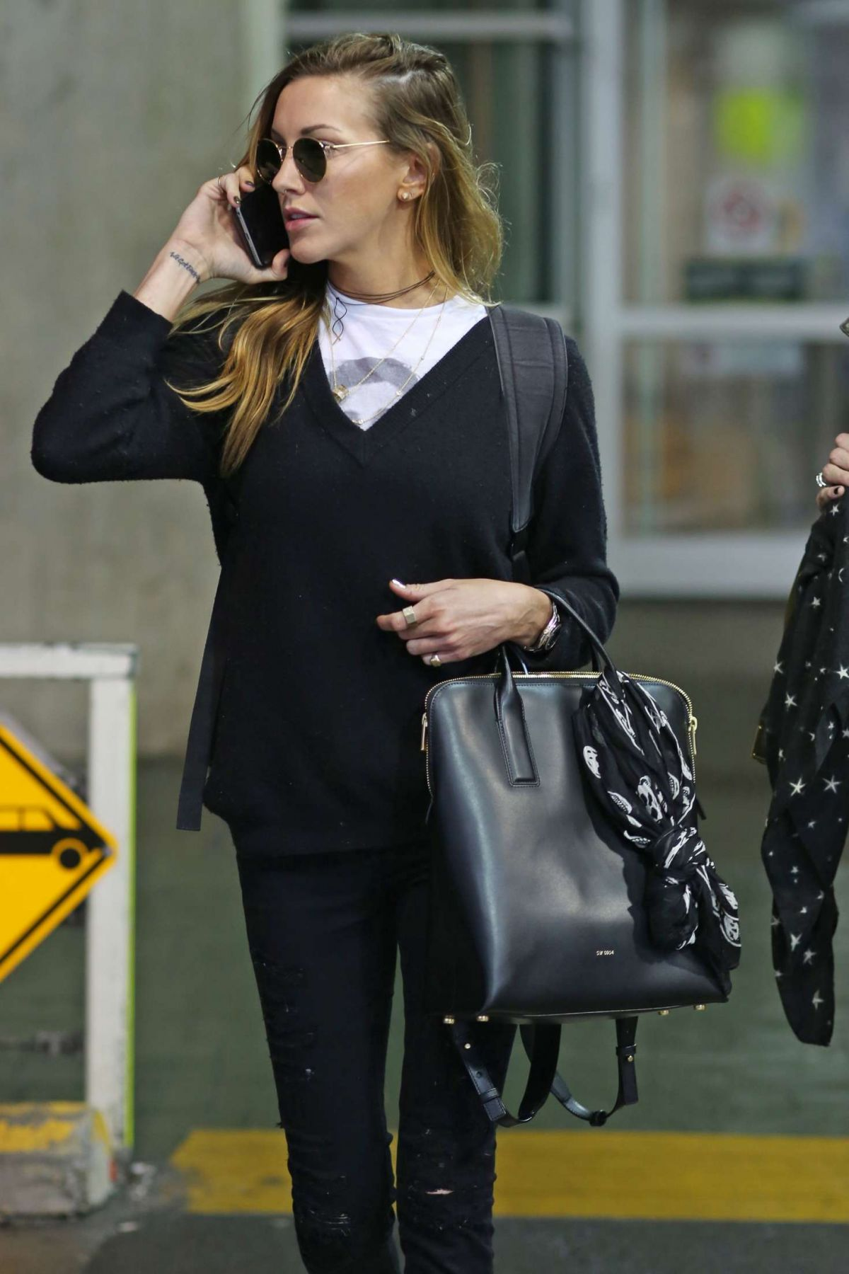 KATIE CASSIDY Out in Vancouver, January 2017