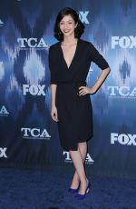 KATIE FINDLAY at Fox All-star Party at 2017 Winter TCA Tour in Pasadena 01/11/2017