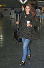 KATIE HOLMES at JFK Airport in New York 01/09/2017
