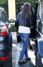 KATIE HOLMES Leaves Sunlife Organics at Commons in Calabasas 01/23/2017