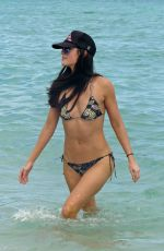 KATIE LEE in Bikini at a Beach in Miami 01/06/2017