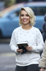 KATIE PIPER Out About in West London 01/22/2017