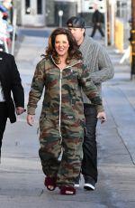 KATY MIXON Arrives at Jimmy Kimmel Live in Hollywood 01/17/2017