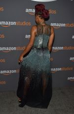 KEKE PALMER at Amazon Studios' Golden Globes Party in Beverly Hills 01/08/2017