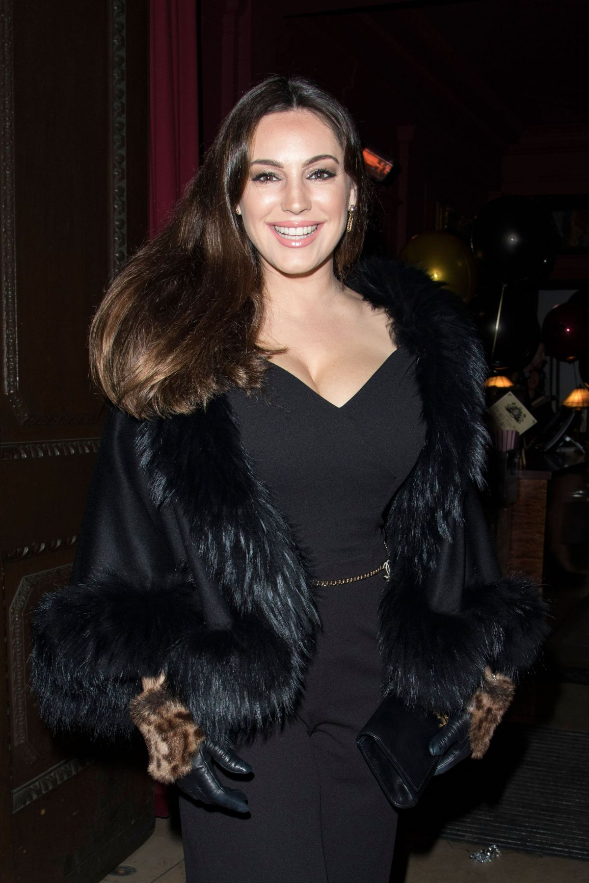 Kelly Brook At Steam Amp Rye S 3rd Birthday Party In London