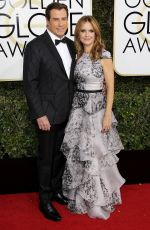 KELLY PRESTON at 74th Annual Golden Globe Awards in Beverly Hills 01/08/2017