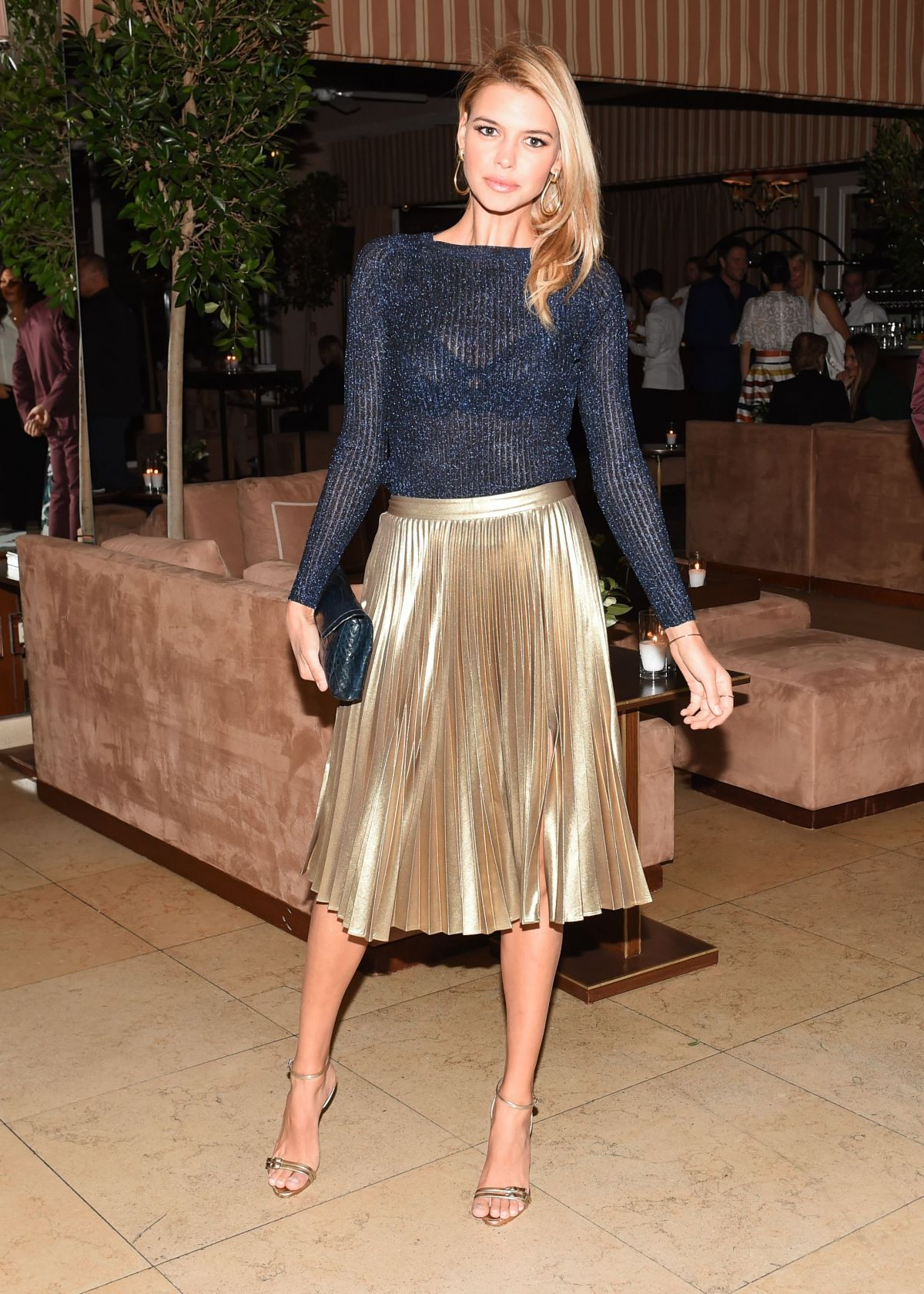 KELLY ROHRBACH at Harper's Bazaar 150 Most Fashionable Women Party in Hollywood 01/27/2017