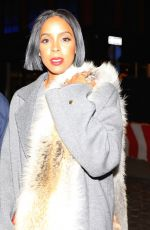 KELLY ROWLAND Night Out in New York 01/26/2017