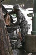 KELLY ROWLAND Out for Grocery Shopping in Beverly Hills 01/22/2017