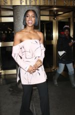 KELLY ROWLAND Out in New York 01/26/2017