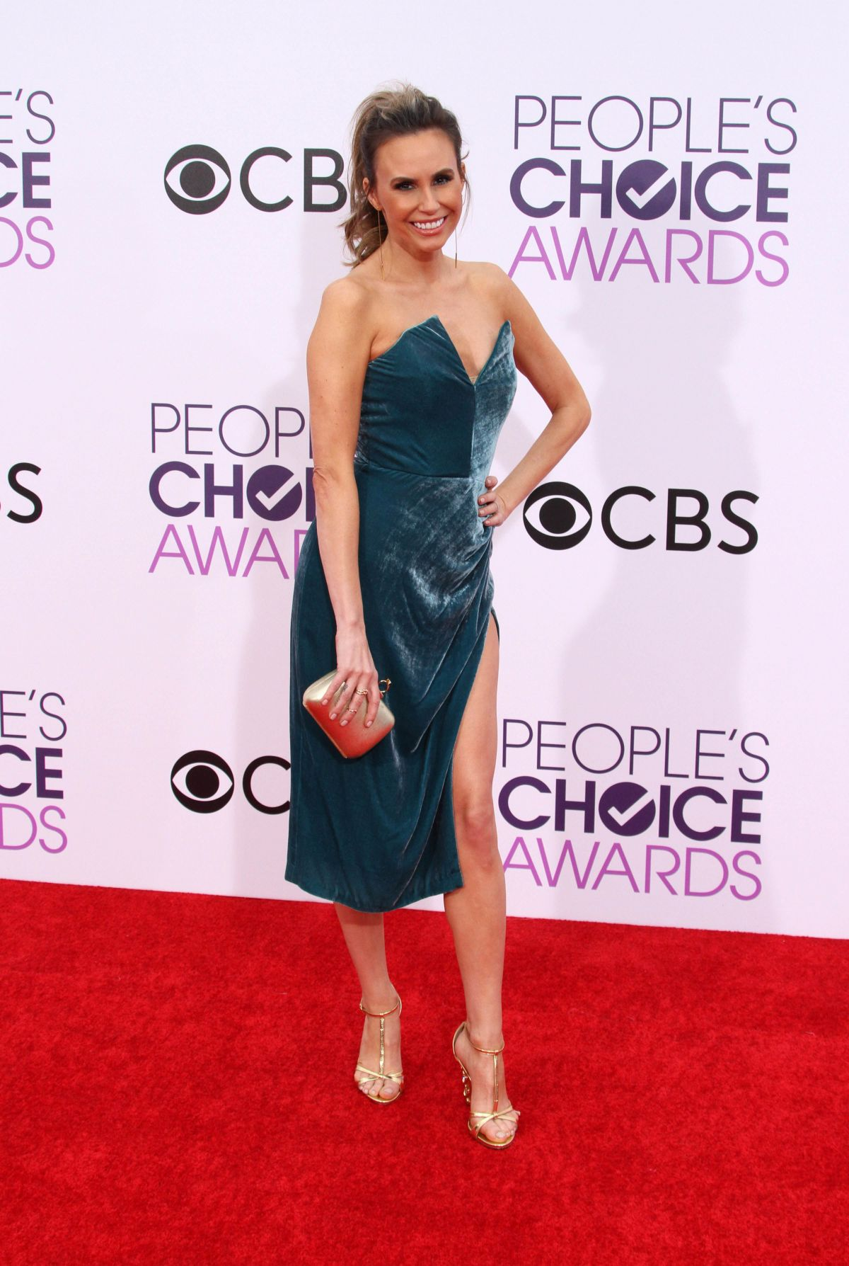 KELTIE KNIGHT at 43rd Annual People's Choice Awards in Los Angeles 01/18/2017