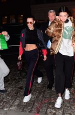 KENDALL JENNER and BELLA HADID Night Out in New York 01/18/2017