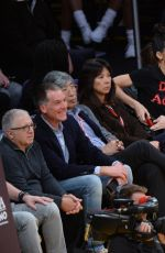 KENDALL JENNER and HAILEY BALDWIN at LA Lakers v Memphis Grizzlies Game in Los Angeles 01/03/2017