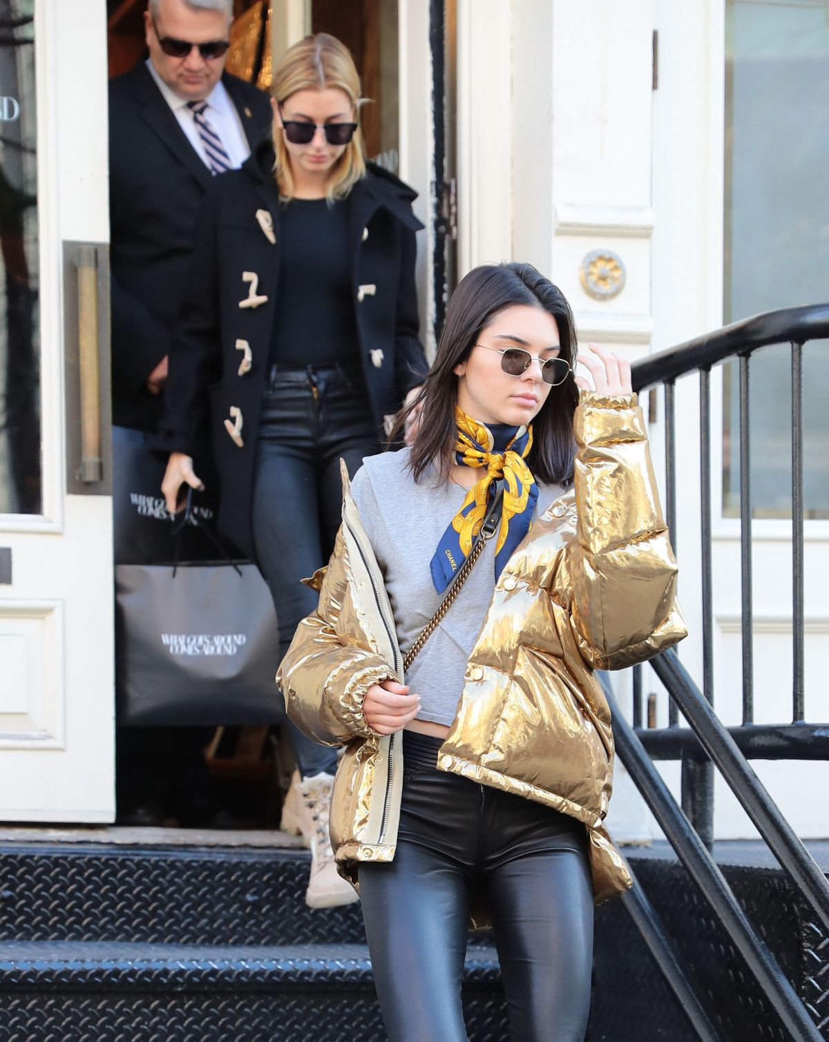 KENDALL JENNER and HAILEY BALDWIN Out in New York 01/16/2017