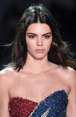 KENDALL JENNER at Alexandre Vauthier Fashion Show in Paris 01/24/2017