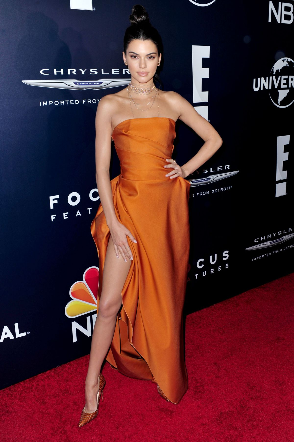 KENDALL JENNER at Warner Bros. Pictures & Instyle's 18th Annual Golden Globes Party in Beverly Hills 01/08/2017