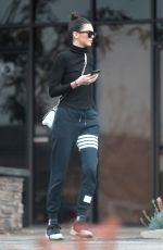 KENDALL JENNER Leaves a Studio in Los Angeles 01/10/2017