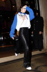 KENDALL JENNER Leaves Her Hotel in Paris 01/22/2017