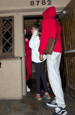 KENDALL JENNER Leaves State Social House in West Hollywood 01/09/2017