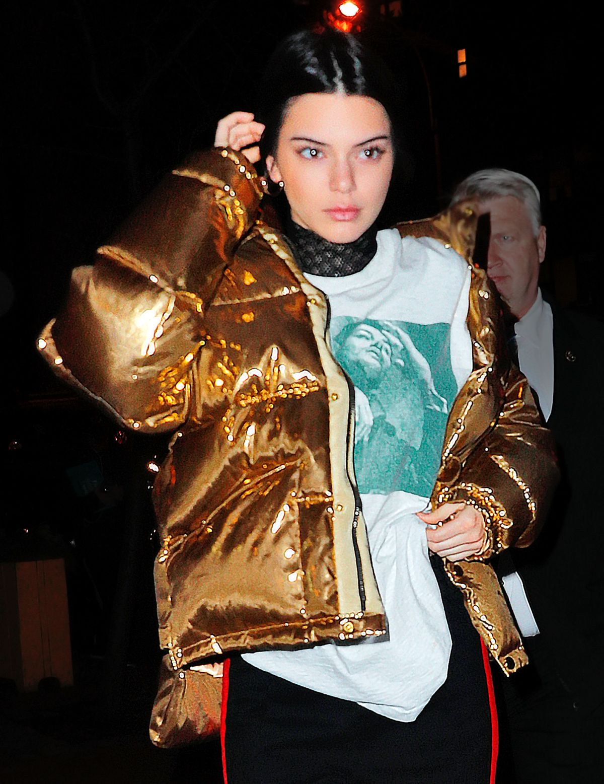 KENDALL JENNER Night Out in New York 01/18/2017