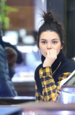 KENDALL JENNER Out Shopping in New York 01/17/2017