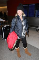 KENDRA WILKINSON at LAX Airport in Los Angeles 01/20/2017