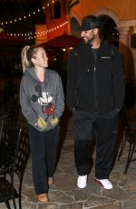 KENDRA WILKINSON Night Out in Calabasas 01/19/2017