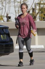 KENDRA WILKINSON Out in Los Angeles 01/16/2017
