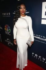 KENYA MOORE at Universal, NBC, Focus Features and E! Golden Globes Party in Beverly Hills 01/08/2017