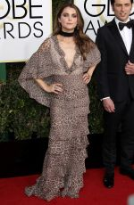 KERI RUSSELL at 74th Annual Golden Globe Awards in Beverly Hills 01/08/2017