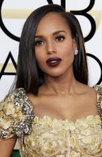 KERRY WASHINGTON at 74th Annual Golden Globe Awards in Beverly Hills 01/08/2017