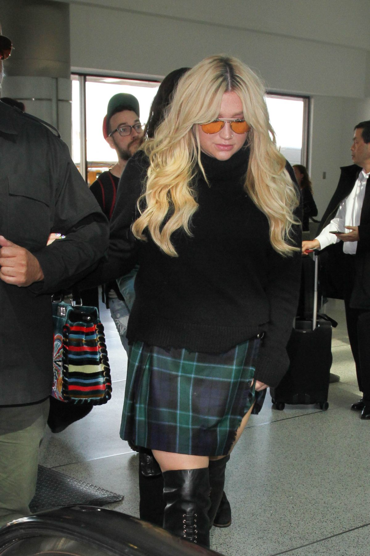 KESHA SEBERT at Los Angeles International Airport 01/26/2017