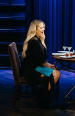 KHLOE KARDASHIAN at Late Late Show with James Corden 01/11/2017