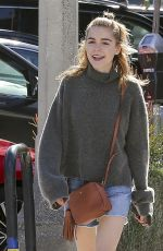 KIERNAN SHIPKA Out and About in Los Angeles 01/24/2017