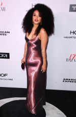KIERSEY CLEMONS at Harper's Bazaar 150 Most Fashionable Women Party in Hollywood 01/27/2017