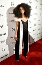 KIERSEY CLEMONS at Marie Claire's Image Maker Awards 2017 in West Hollywood 01/10/2017