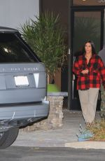 KIM KARDASHIAN and Kanye West Out in Beverly Hills 01/06/2017