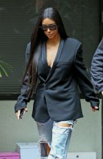 KIM KARDASHIAN at a Medical Building in Los Angeles 01/06/2017