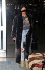 KIM KARDASHIAN at JFK Airport in New York 01/16/2017
