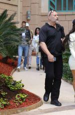 KIM KARDASHIAN Leaves Her Hotel in Dubai 01/15/2017