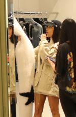 KIM KARDASHIAN Out Shopping in Dubai 01/14/2017