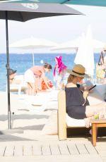 KIMBERLEY GARNER in Bikini on Vacation in St. Tropez 01/03/2017