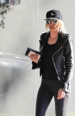 KIMBERLY STEWART Out and About in Beverly Hills 12/29/2016