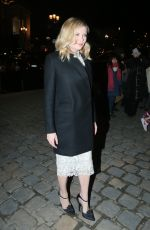 KIRSTEN DUNST Arrives at Ralph & Russo Fashion Show at Paris Fashion Week 01/23/2017
