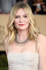 KIRSTEN DUNST at 23rd Annual Screen Actors Guild Awards in Los Angeles 01/29/2017