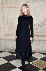 KIRSTEN DUNST at Christian Dior Fashion Show at Paris Fashion Week 01/23/2017