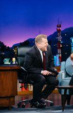 KIRSTEN DUNST, ZOE SALDANA and Jamie Foxx at Late Late Show with James Corden in Los Angeles 01/05/2017